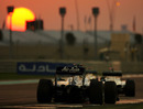 Nico Rosberg on his way to a ninth-place finish in Abu Dhabi