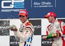 Sergio Perez celebrates victory