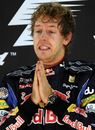 Sebastian Vettel's prayers were answered in Abu Dhabi