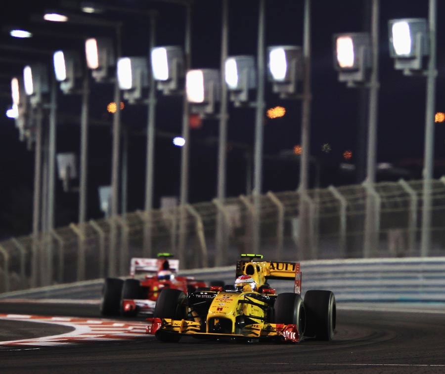 Vitaly Petrov held off Fernando Alonso for sixth