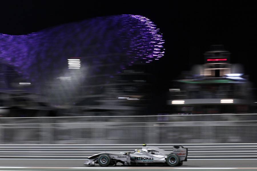 Nico Rosberg during FP2