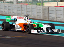 Paul di Resta behind the wheel of the Force India