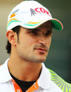 Tonio Liuzzi in the paddock