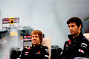 Mark Webber and Sebastian Vettel answer questions in a post-season press conference