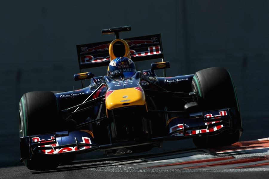 Daniel Ricciardo was quickest on both days at Abu Dhabi