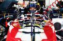 Jean-Eric Vergne in his Toro Rosso