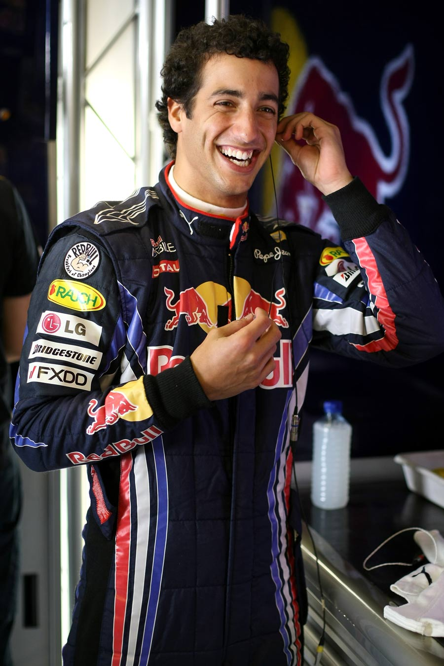 Daniel Ricciardo enjoyed his two days of driving for Red Bull