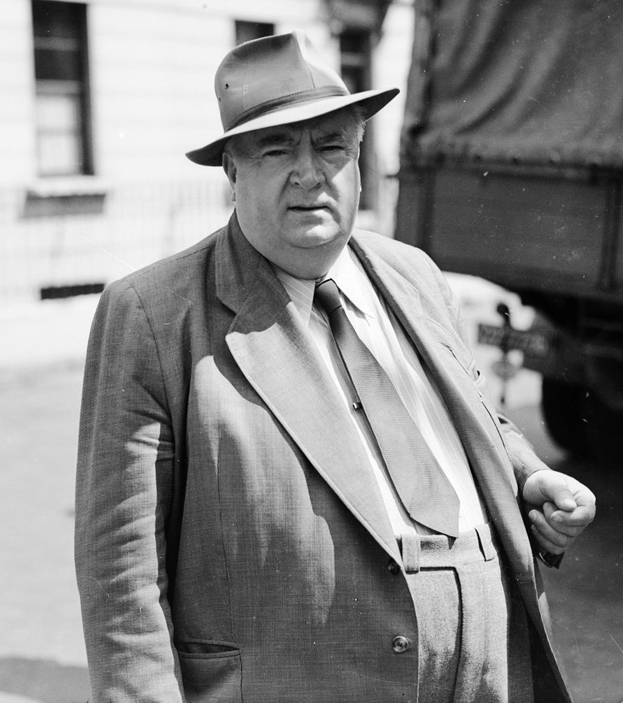 Alfred Neubauer at Silverstone