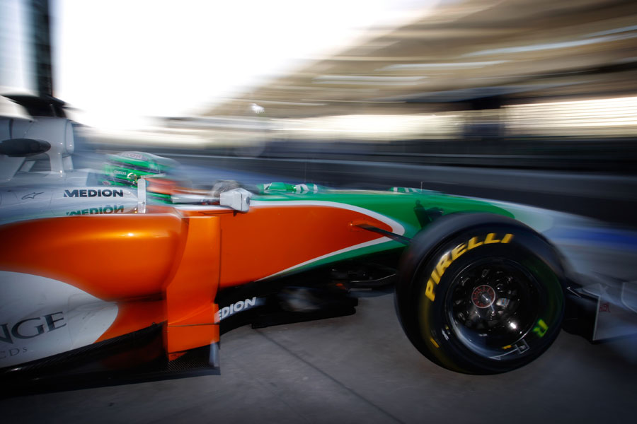7972 - F1 : Force India to use old car in 1st Test