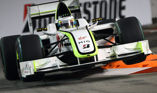 Button didn't score big points in Singapore