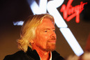 Sir Richard Branson at the launch of the new Virgin Racing team