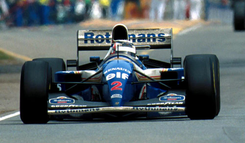 Nigel Mansell won at Adelaide in 1994