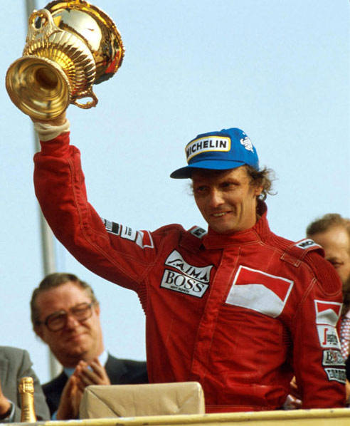 Niki Lauda won the 1984 British Grand Prix