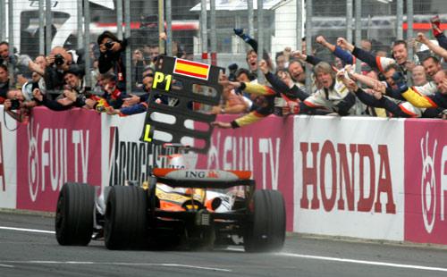 Fernando Alonso won in Japan
