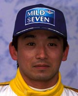 Minardi driver Ukyo Katayama