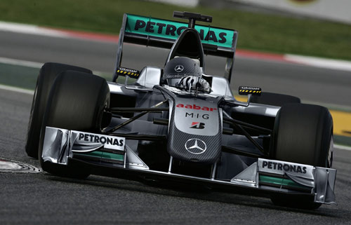 Mercedes concept livery for 2010