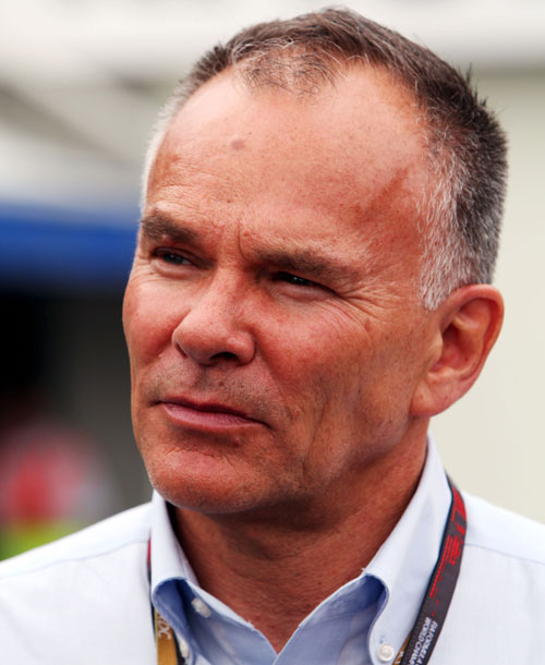 US F1 team boss Peter Windsor