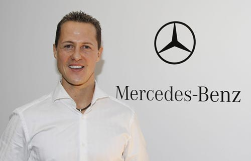 Mercedes announced that Michael Schumacher will drive for the team in 2010