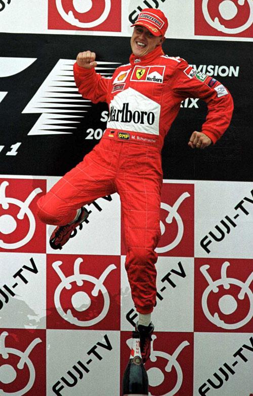Michael Schumacher won the 2000 championship