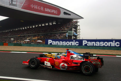 Michael Schumacher and Fernando Alonso fought for the title in 2006