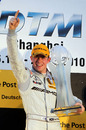Paul di Resta celebrates after winning the DTM championship