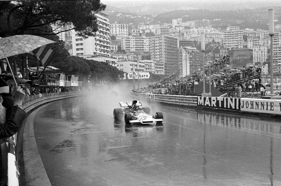Jean-Pierre Beltoise drove the race of his ife to win in Monaco