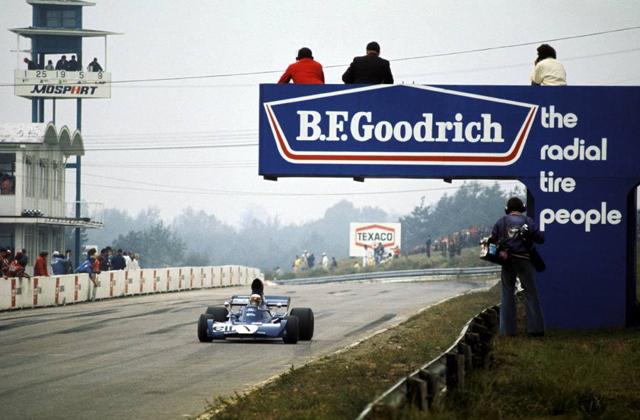 Jackie Stewart on his way to victory at Mosport Park