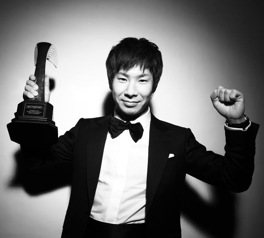 Kamui Kobayashi was named the Autosport Rookie of the Year