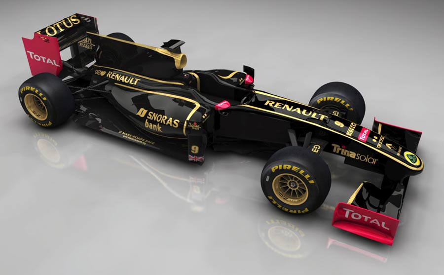 The new Lotus Renault GP livery is set to rekindle memories of the 1980s