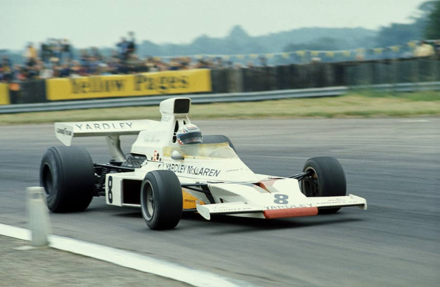 Peter Revson claimed his maiden GP victory
