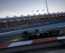 Sparks fly from Heikki Kovalainen's Lotus