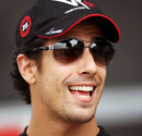 Lucas di Grassi in the paddock