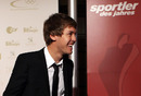Sebastian Vettel at the Athlete of the Year 2010 gala in Germany