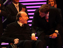 Sir Frank Williams after receiving the Helen Rollason Award for Achievement in the Face of Adversity