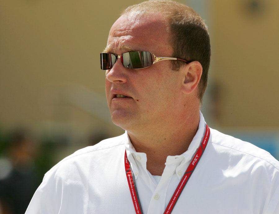 8211 - Banker arrested over F1 rights deal