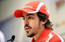 Fernando Alonso answers questions on the 2011 season at Ferrari's media event Wrooom