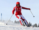 Felipe Massa on the slopes at Ferrari's media event Wrooom