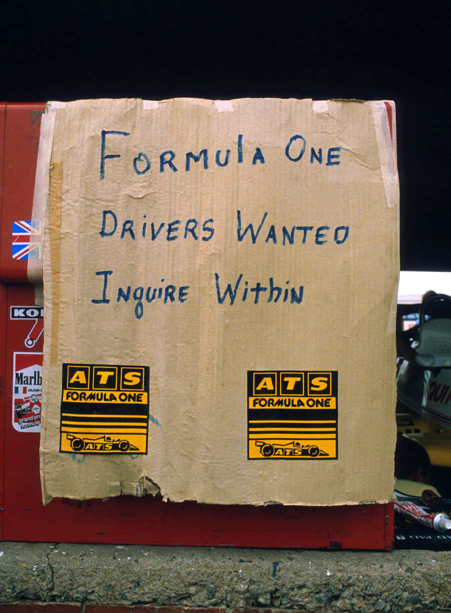 Humour on the pit wall after the drivers went on strike ahead of the South African Grand Prix