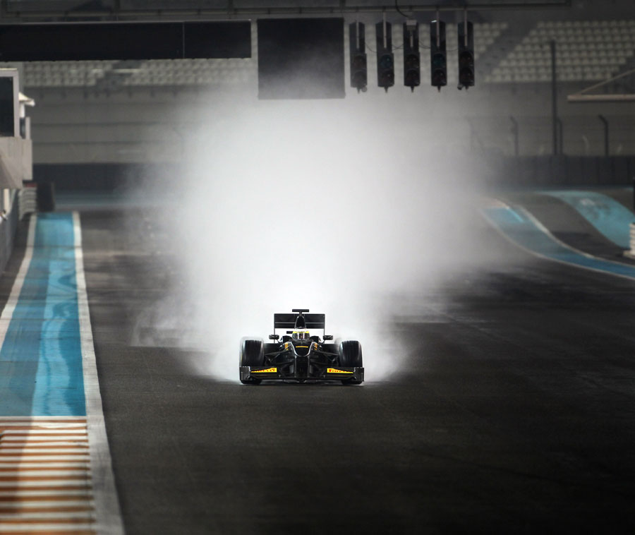 8340 - Driving in Desert Rain