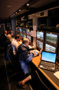 TV production at the Spanish Grand Prix