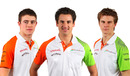 Force India's new driver line-up for 2011 - Paul di Resta, Adrian Sutil and Nico Hulkenberg