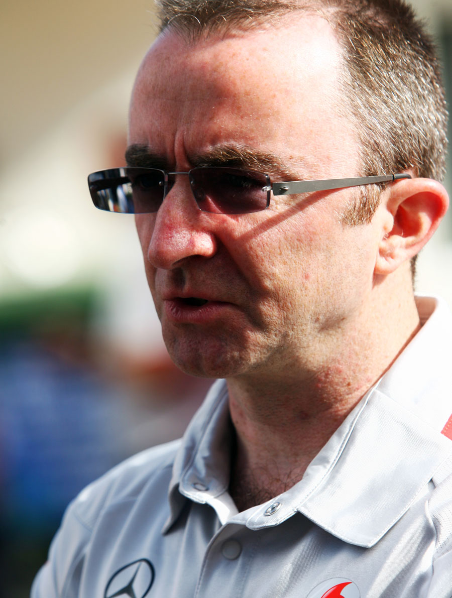 McLaren's Paddy Lowe in the paddock