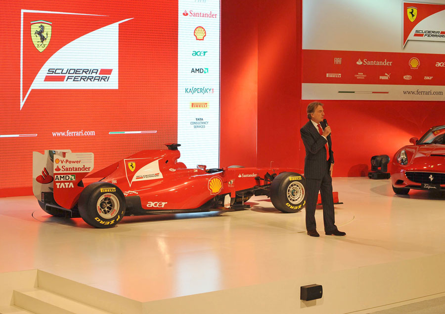 8439 - Ferrari to debut new car at first test