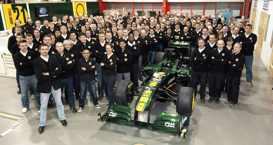 8458 - Team Lotus unveils 'car of the future'