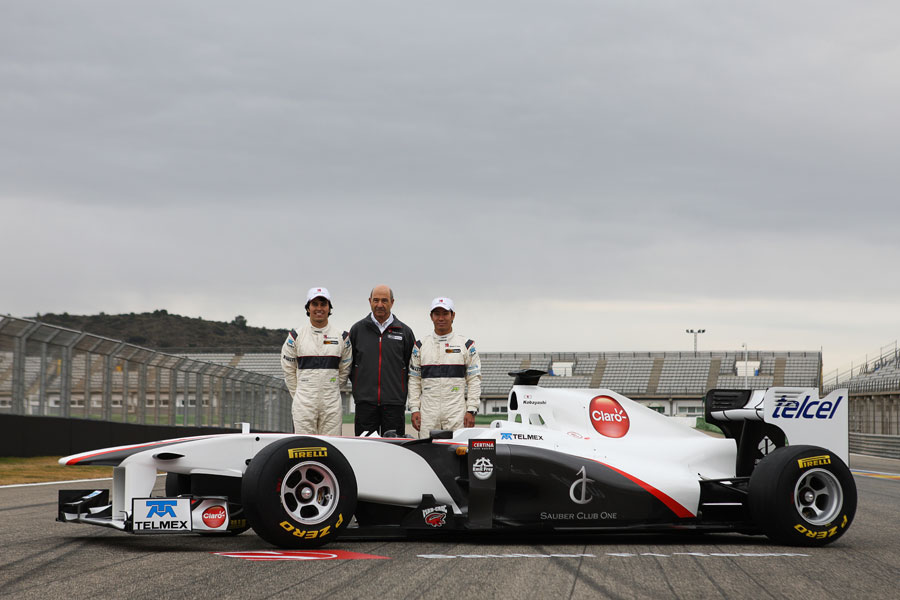 8467 - Sauber targets greater consistency in 2011