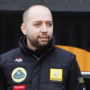 Gerard Lopez at the launch of the Renault R31