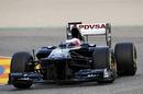 Rubens Barrichello in the new Williams FW33