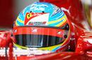 Fernando Alonso in the pitlane