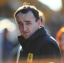 Robert Kubica in the paddock