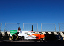 Paul di Resta gets the feel of the car